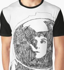 Ellen Ripley Pencil Portrait (Graphic T-shirt) Graphic T-Shirt