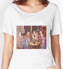 Chilling at the Waldorf Astoria Hotel New York Women's Relaxed Fit T-Shirt