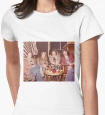 Chilling at the Waldorf Astoria Hotel New York Women's Fitted T-Shirt