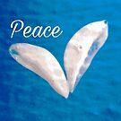 DOVE OF PEACE by WhiteDove Studio kj gordon