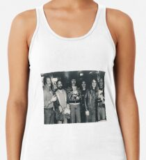 Hotel Bar in Kansas City Holiday Inn. The Band Rehydrating after the Gig. Racerback Tank Top