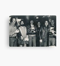 Hotel Bar in Kansas City Holiday Inn. The Band Rehydrating after the Gig. Canvas Print