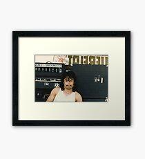 Drummer 'Philthy Animal' Phil Taylor Framed Print