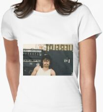 Drummer 'Philthy Animal' Phil Taylor Women's Fitted T-Shirt
