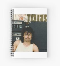 Drummer 'Philthy Animal' Phil Taylor Spiral Notebook