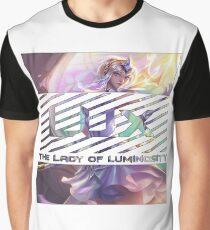 Lux League Of Legends Graphic T-Shirt