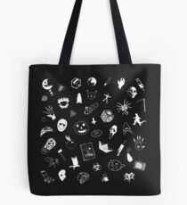 I LOVE HORROR Tote Bag