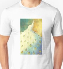 White Peacock Unisex T-Shirt