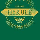 Kingdom of Hyrule by isabelgomez