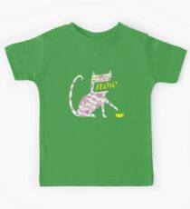 Now Cat Kids Tee