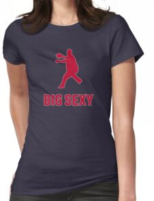 Bartolo - Big Sexy Silhouette (Braves) Womens Fitted T-Shirt