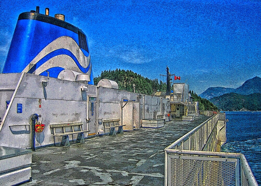 BC Ferry by Terry Krysak