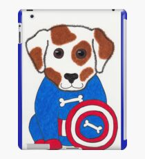 Puppy Dog America - Animal Superhero iPad Case/Skin