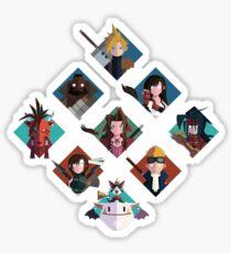 Final Fantasy cute tiles Sticker