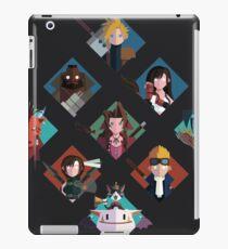 Final Fantasy cute tiles iPad Case/Skin