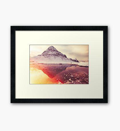 Scottish winter sunshine Framed Print