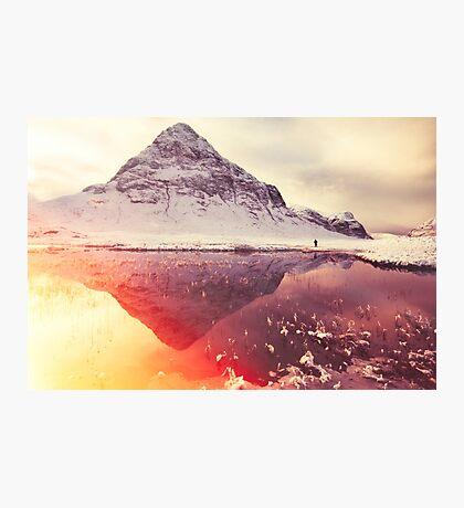 Scottish winter sunshine Photographic Print