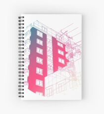 Gradient Apartments Spiral Notebook