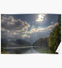Forggensee Lake Schwangau Germany Poster