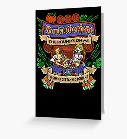 Conktoberfest! Greeting Card