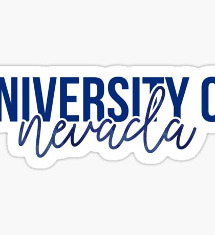 University of Nevada - Style 13 Sticker