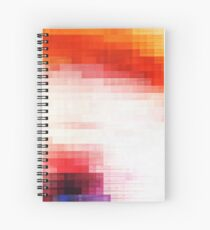 Scorch the Surface Spiral Notebook