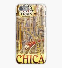 Futuristic Rail Train  iPhone Case/Skin