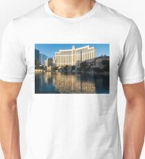 Blue Sky and Sunshine - Reflecting on Bellagio Las Vegas Unisex T-Shirt