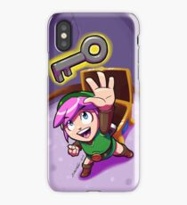 Link finds a Key iPhone Case