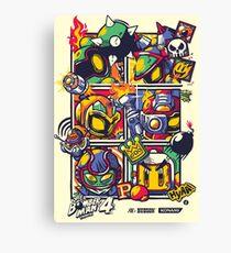 Bomber Battle - Player 01 Canvas Print