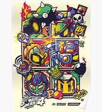 Bomber Battle - Player 01 Poster