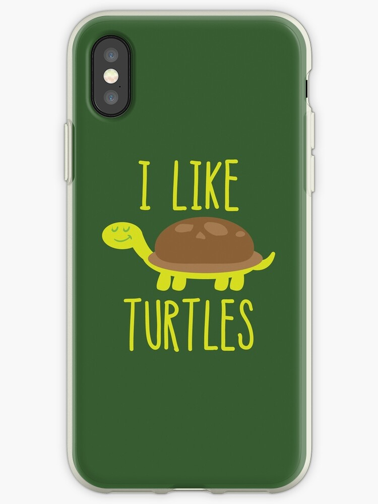 coque iphone xr tortue
