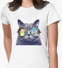 Rick and Morty Cat T-Shirt