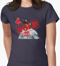 Chris Sale Sold Women s Fitted T-Shirt bd4e88b59a