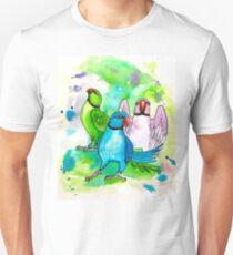 Ringneck Rainbow Unisex T-Shirt