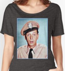Barney Fife in color Women's Relaxed Fit T-Shirt