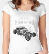 In Rust We Trust - C,D & R Women's Fitted Scoop T-Shirt