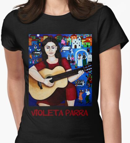 "Violeta Parra  and the song ""Black wedding""  T-Shirt"