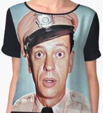 Barney Fife in color Chiffon Top