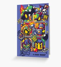 Bomber Battle - Player 04 Greeting Card