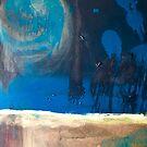 GALAXY original abstract painting  by abstractbYmina