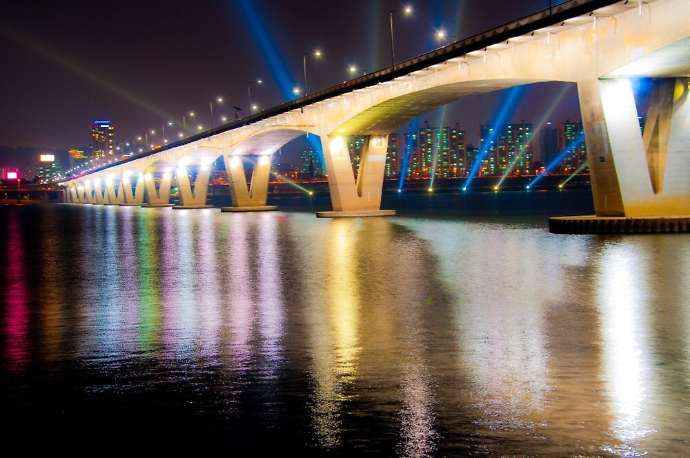 Wonhyo Bridge, Seoul, Korea by Dean Bailey