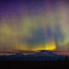 Aurora Alpenglow by Owed To Nature