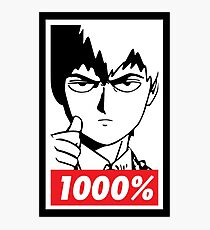 Mob Psycho 100 - Reigen 1000% Photographic Print