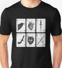Camiseta ajustada Six of Crows - Negro