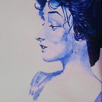 The Woman in Blue by emmaq