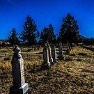 Midnight at Grey Butte... by Richard Bozarth