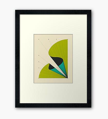 DEJA VU #2 Framed Print