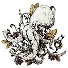 Inked Octopus by Ashthomsonart