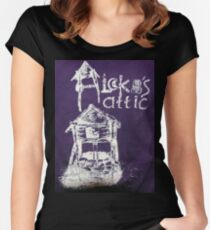 Aleka's Attic Women's Fitted Scoop T-Shirt